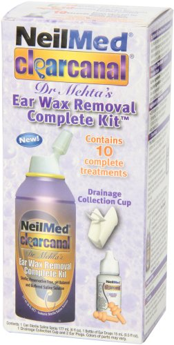 how to clear wax from clagged ear
