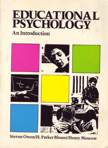 Educational Psychology: An Introduction