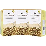 Greenbrrew® Green Coffee For Weight Loss (Decaffeinated & Unroasted) Pack Of 3 (Lemon)