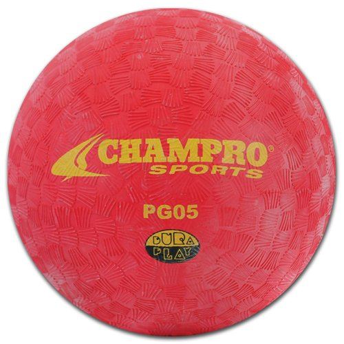 Champro Playground Ball (Red, 6-Inch) - 1