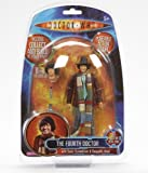 The Fourth Doctor with Sonic Screwdriver & Alternative Head