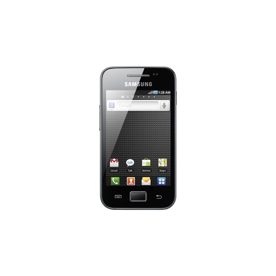 Samsung S5830EUBLK Galaxy Ace Android Powered Smartphone with 5MP Camera, Touch Screen, Wi Fi   Unlocked Phone   No Warranty   Black Cell Phones & Accessories