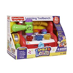 Fisher price laugh learn learning tool bench toys games Fisher price tool bench