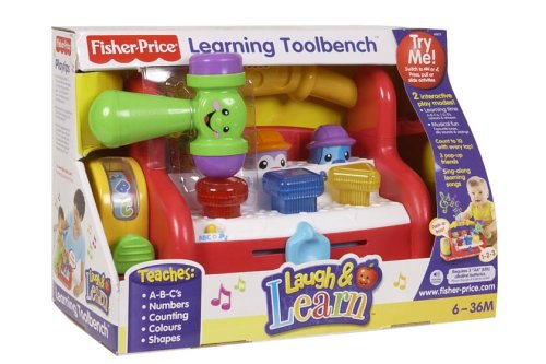 Fisher-Price Laugh & Learn Learning Tool Bench