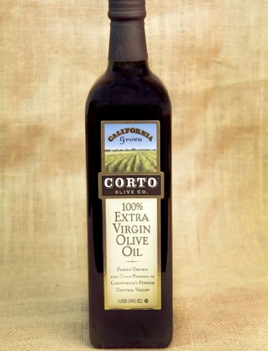 Corto Extra Virgin Olive Oil From California, 500ML Glass Bottle (Pack of 2)