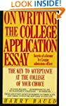 On Writing the College Application Es...