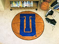"Tulsa Golden Hurricane 29"" Round Basketball Floor Mat (Rug)"