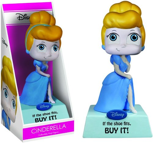 Cinderella If The Shoe Fits, Buy It! Disney Vinyl Figure - 1