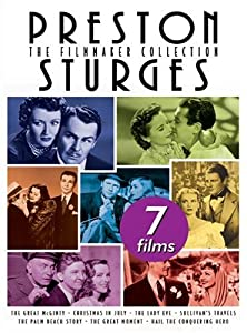 Preston Sturges - The Filmmaker Collection Sullivans Travelsthe Lady Evethe Palm Beach Storyhail The Conquering Herothe Great Mcgintychristmas In Julythe Great Moment by Universal Studios