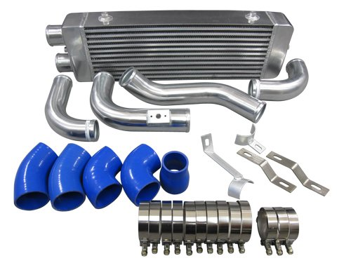 Rev9Power Rev9/_IP-250-BLUE; Universal Aluminum Intercooler Pipe Kit 2.5 blue