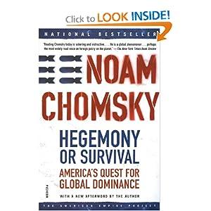 Hegemony or Survival Noam Chomsky