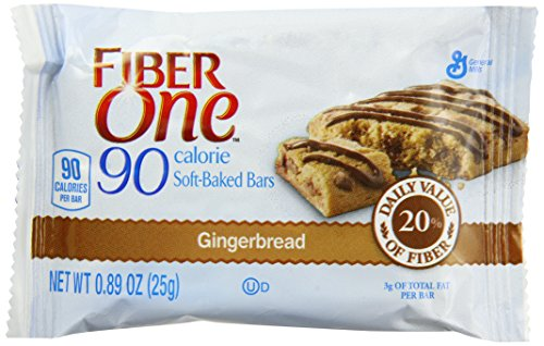 Fiber One Bars Chewy Original 90 Calorie Gingerbread, 33.8 Ounce (Cliff Bars Gingerbread compare prices)
