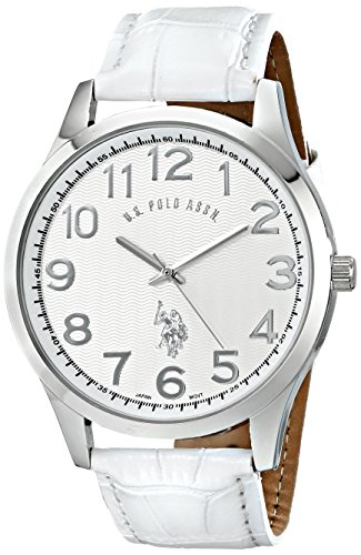 U.S. Polo Assn. Classic Men'S Usc50192 Analog Display Analog Quartz White Watch