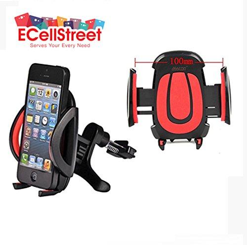 ECellStreet TM 360° Degree Rotation Car Air Vent Mount Holder Cradle Mobile Phone Holder Bracket Mount For Lenovo...