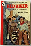img - for Red River : (Blazing Guns on the Chisholm Trail) ; Movie Tie In : John Wayne and Joanne Dru (Rear Cover) book / textbook / text book