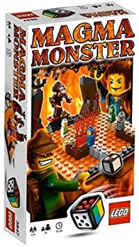 LEGO Games - 3847 - Jeu de Société - Magma Monster