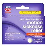 Rite Aid Motion Sickness Relief 8 ct.