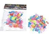 100 Loom Bänder Verbinder S- Clips / Verschlüsse / verschiedene Farben hergestellt von China Trading