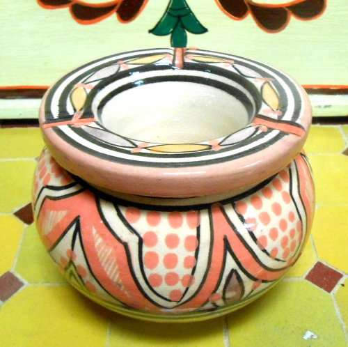 Moroccan Smokless Ashtray Small By Treasures of Morocco