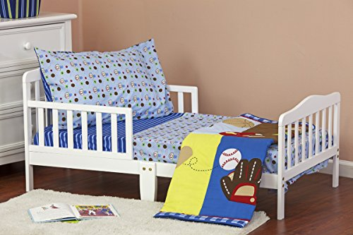Dream On Me All-Star Athlete 4 Piece Toddler Bedding Set - 1