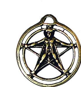 amulette porte bonheur talisman symbole magique agrippa schmuck pendentif en forme de. Black Bedroom Furniture Sets. Home Design Ideas