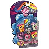 My Little Pony Friendship Is Magic Fashems Series 3 Value Pack Toy Figure Set Of 6