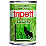 Tripett Green Beef Tripe Original Formula for Dogs (Pack of 12, 13 Ounce Cans)