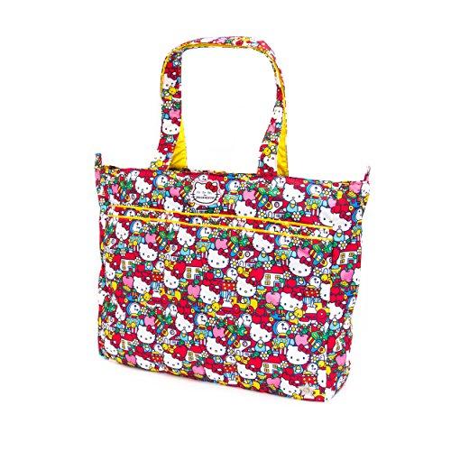 Ju-Ju-Be Super Be Zippered Tote Diaper Bag, Hello Kitty