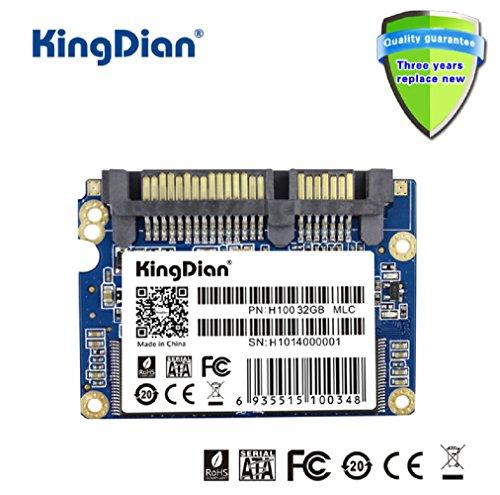 KingDian 1.8 Half-Slim SATA II H100 Speed Upgrade Kit Portable External Solid State Storage Drive SSD for Desktop PCs and MacPro (32G)