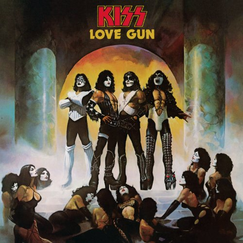 Original album cover of Love Gun by Kiss