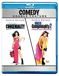 Miss Congeniality / Miss Congeniality 2: Armed and Fabulous (Comedy Double Feature) [Blu-ray]