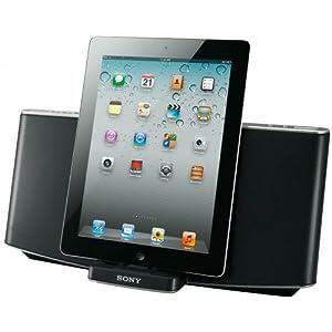 Sony RDPX200IP Kabelloser Bluetooth Docking-Lautsprecher für Apple iPod/iPhone/iPad schwarz