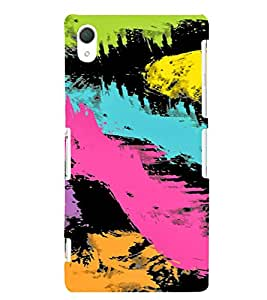 PrintVisa Painting Art Pattern 3D Hard Polycarbonate Designer Back Case Cover for Sony Xperia Z2