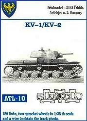 Friulmodel Atl10 1/35 Metal Track Link Set With Drive Sprockets For Kv 1 & Kv 2