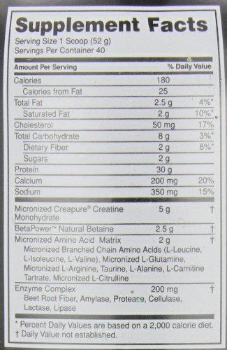 Optimum Nutrition Platinum Hydrobuilder, Chocolate Shake, 40 Servings