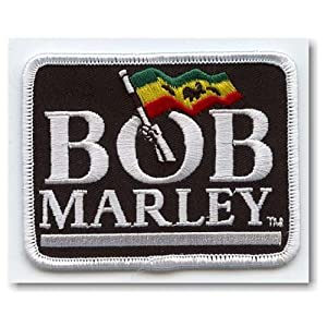 Bob MARLEY FLAG LOGO Iron On Patch