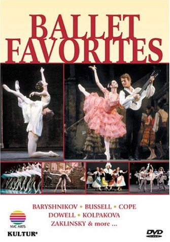 Cover art for  Ballet Favorites / Baryshnikov, Eagling, Kolpakova