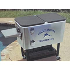 Buy 2014 Tommy Bahama 100 Qt. Rolling Cooler by Tommy Bahama
