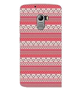 PrintDhaba Tribal Pattern D-5418 Back Case Cover for LENOVO VIBE K4 NOTE (Multi-Coloured)