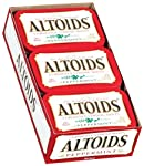 Altoids Curiously Strong Mints, Peppermint, 1.76-Ounce Tins (Pack of 12)