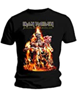 Iron Maiden Men's CM EXL Seventh Son Short Sleeve T-Shirt