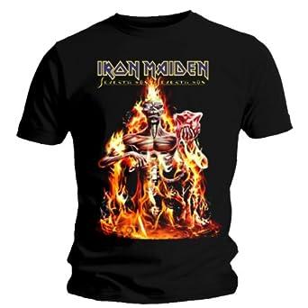 Collectors Mine Herren T-Shirt Iron Maiden - Seventh Son, Gr. 46 (S), Schwarz (Schwarz)