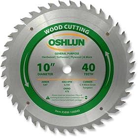 oshlun 40 tooth blade