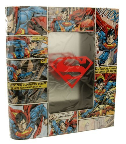 SUPERMAN Comic Book Tin Storage Box Licensed Comic Item (Dc Storage compare prices)
