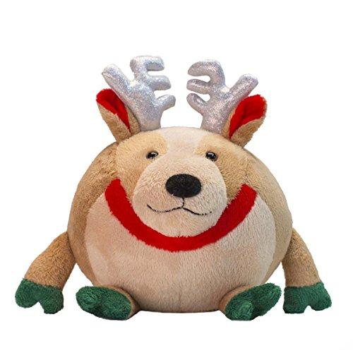 Reindeer Goofballz Plush Toy - 1