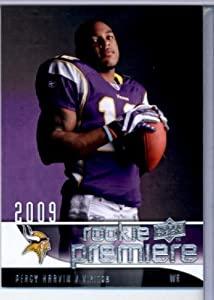 2009 Upper Deck Rookie Premiere Football Card #25 Percy Harvin WR (RC) - Minnesota... by Upper Deck