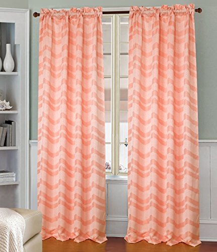 Pink Blackout Curtains 90 X 54