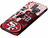 nfl San Francisco 49ers logo Samsung galaxy S5 SV case- black snap-on hard case