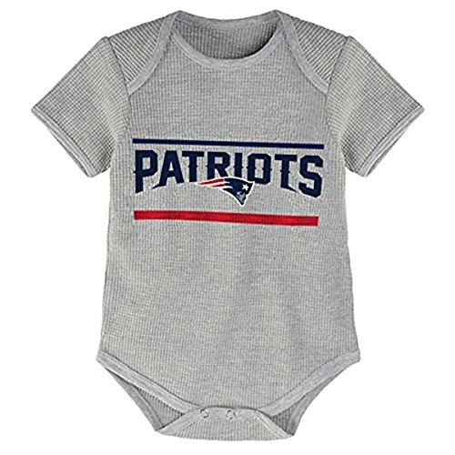 Nfl Infant Stacked Fan S/S Bodysuit - New England Patriots - 18M front-1053903