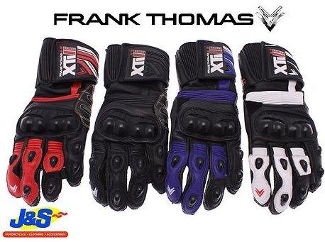Frank Thomas seg200XTI II Gants de moto XTI 2Gants de moto en cuir Racing J & S